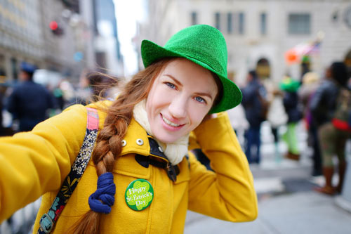 Girl-in-Green-Hat-St-Patricks-Day-parade