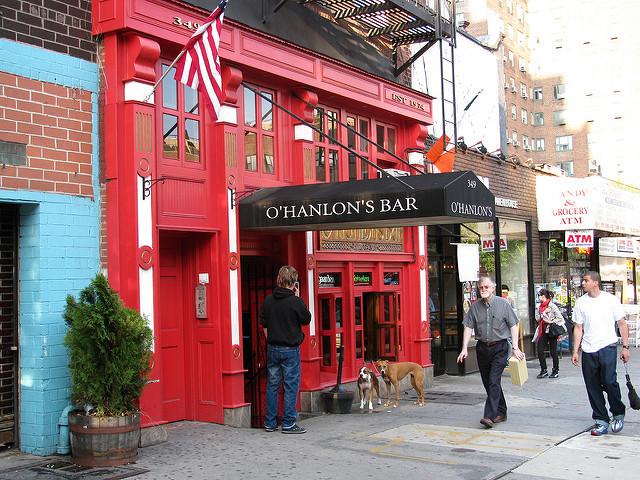 Finest Irish Pubs in NYC East Village O'Hanlon's Bar