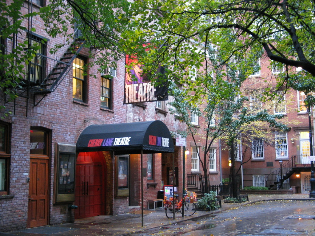 history-filled off-Broadway theaters Cherry lane Theater greenwich Village