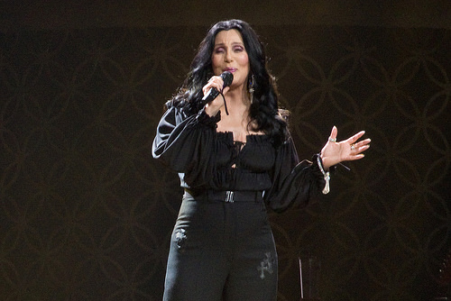 Cher on Broadway Stage